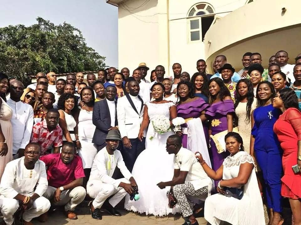 UTV's Ama Sarpong Kumankuma gets married in a colourful ceremony