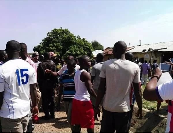 Angry Karaga youth attack DCE; set motorbike on fire