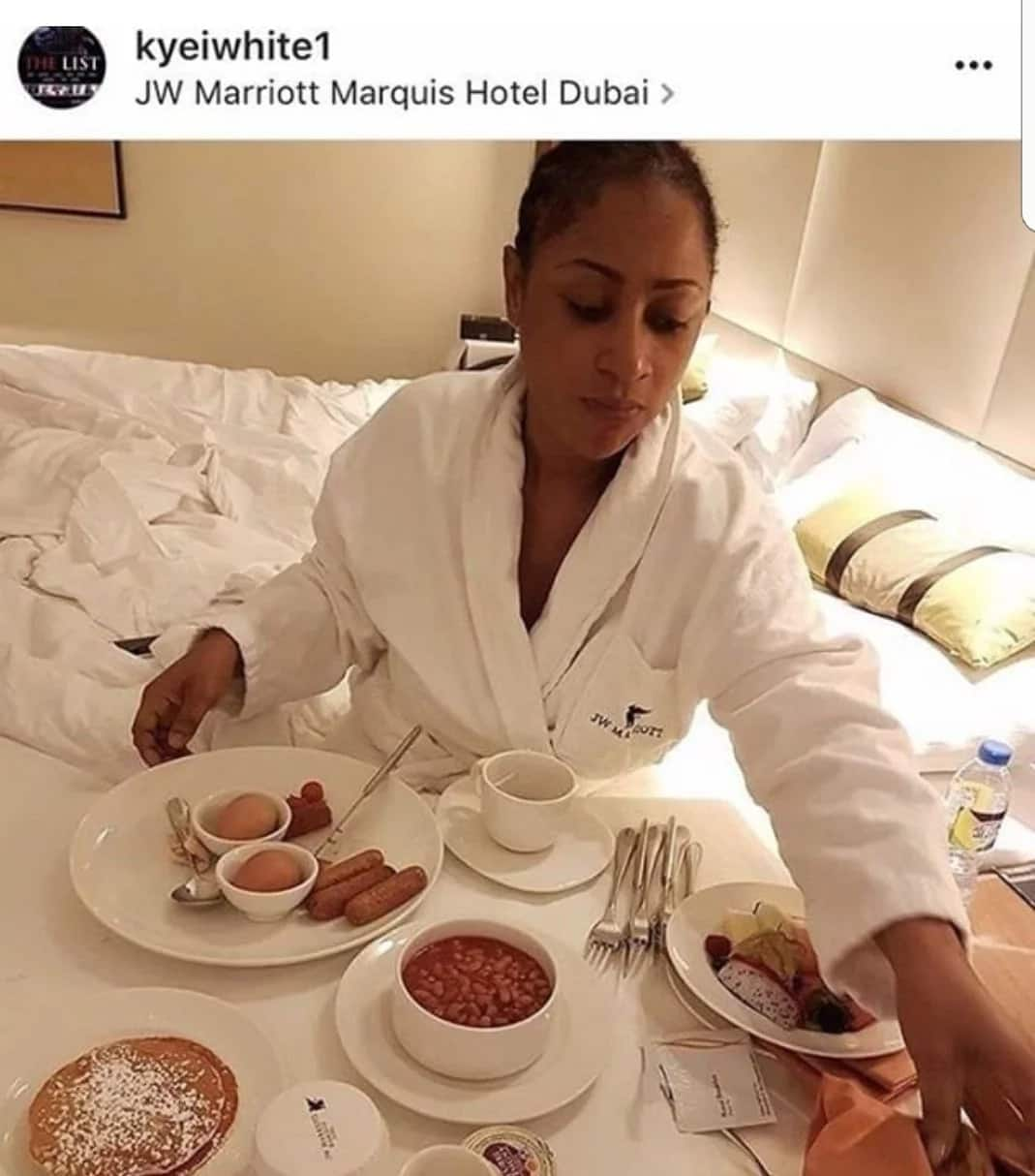Ghanaian actress Ellen White caught in bed with fellow actress' Emelia Brobbey's ex-husband