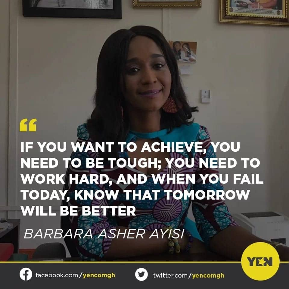 Social media users praise Hon. Barbara Asher Ayisi for her valuable advice to the youth