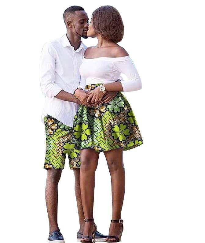 ankara styles for couples, ankara styles for young couples, ankara couple styles, couples in ankara styles
