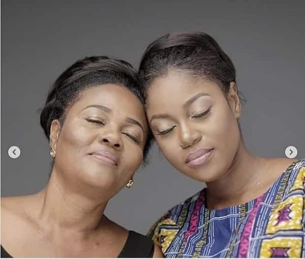 Yvonne Nelson and mom