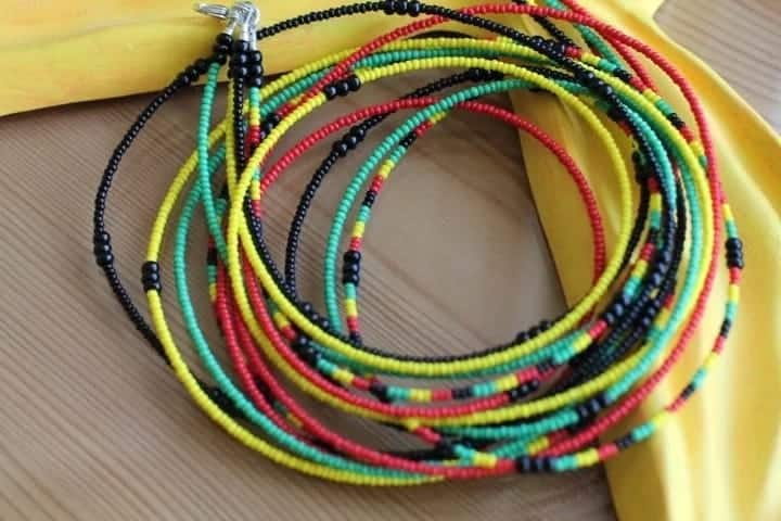 8 reasons to wear Ghanaian waist beads