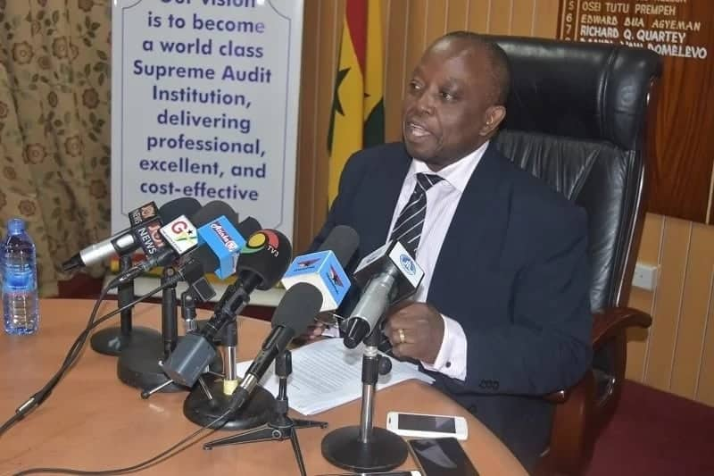 Auditor General fights corruption in Ghana ministries