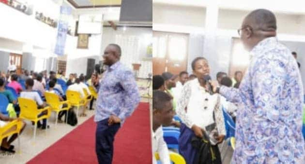 Bola Ray surprised Accra Academy students with concert tickets