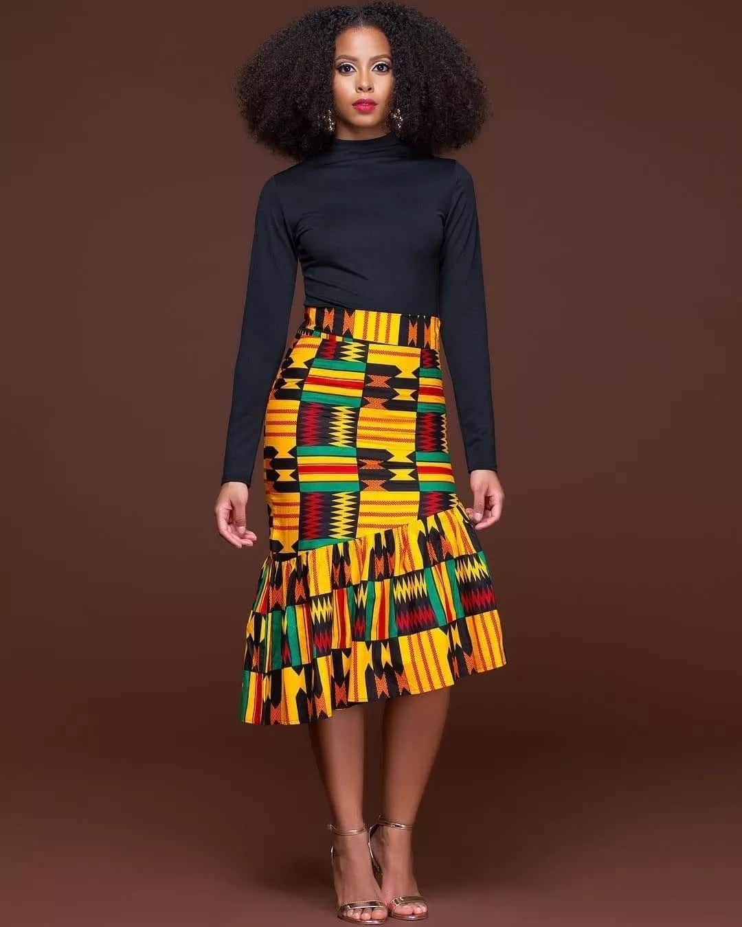 d342dca3e9 Modern African wear for ladies in Ghana 2019 ▷ YEN.COM.GH
