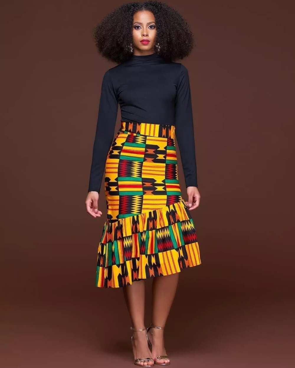 a4f912783fc43c Modern African wear for ladies in Ghana 2019 ▷ YEN.COM.GH