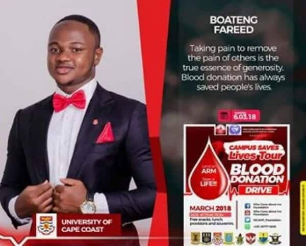 First-year UCC student spearheads national campus blood donation exercise