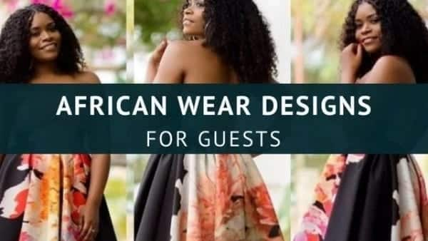 African wear for wedding guest