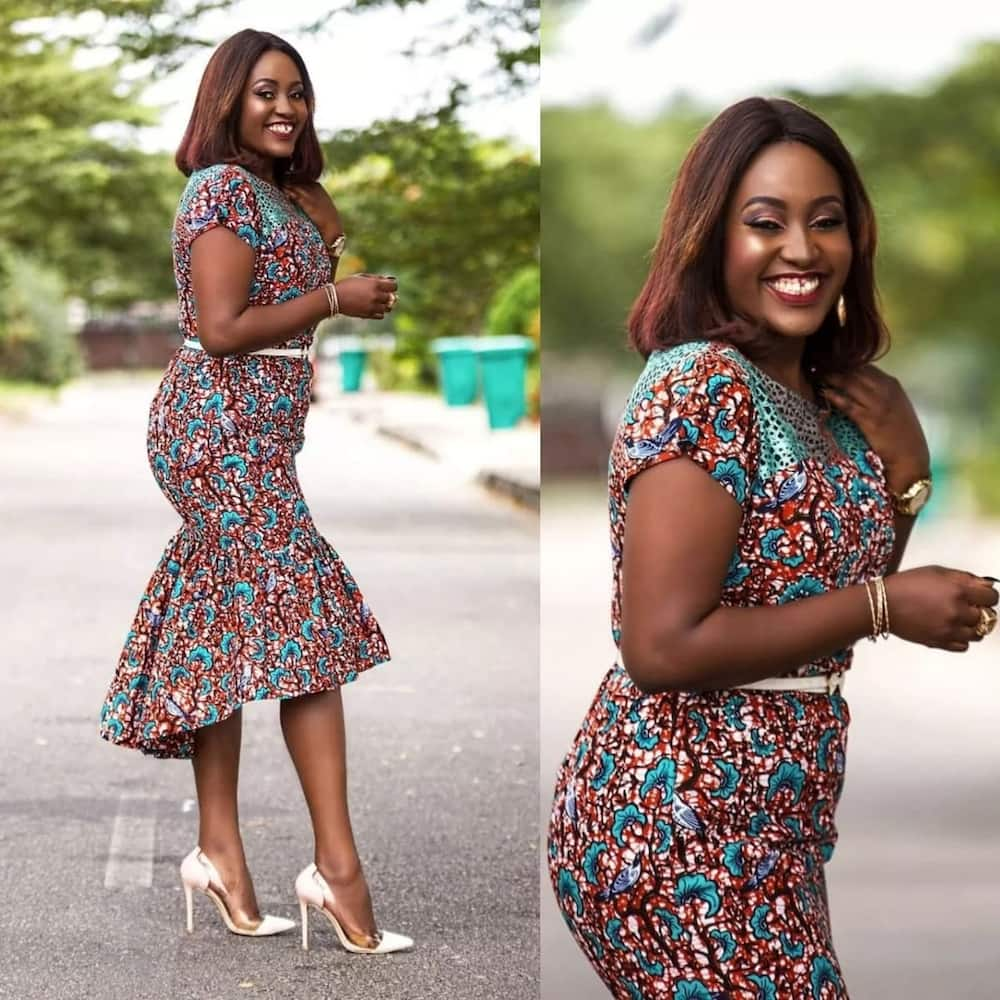 886c5f0277 Unique and Trendy Ankara styles for Ladies 2019 ▷ Yen.com.gh