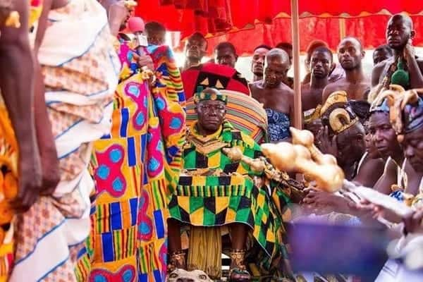 God stopped the rains at Manhyia because of my mother's funeral – Otumfuo
