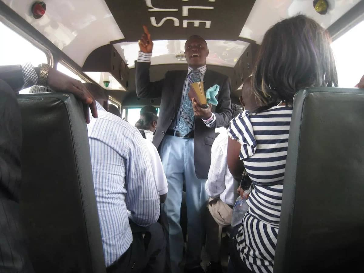 The things you can expect from any pastor in a trotro