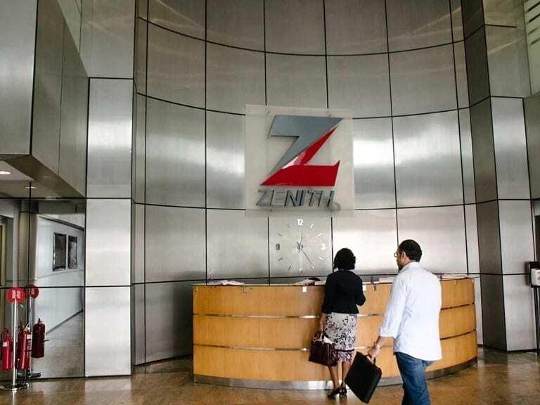 Zenith Bank Ghana branches