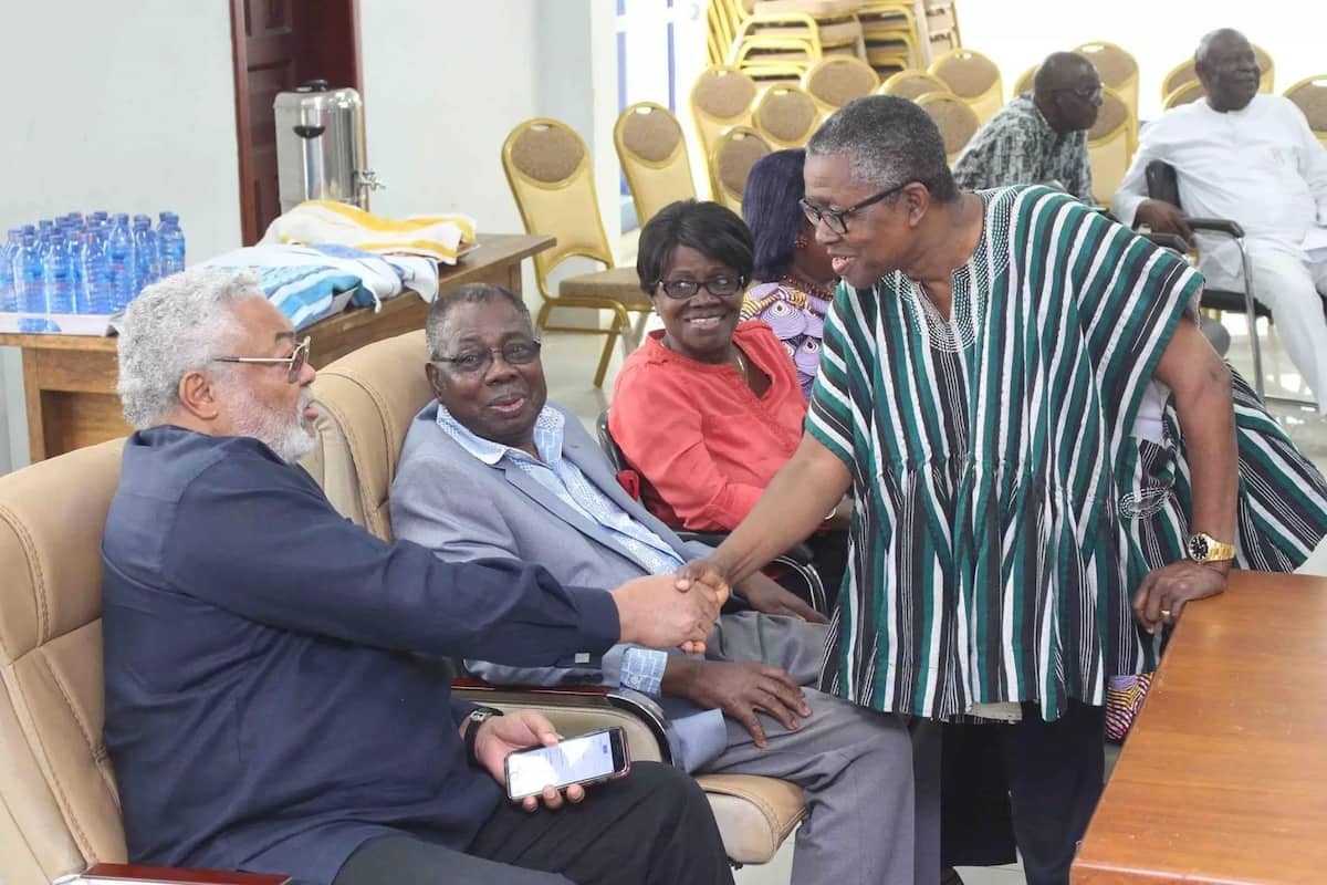 Rawlings attends NDC FEC/Council of elders meeting