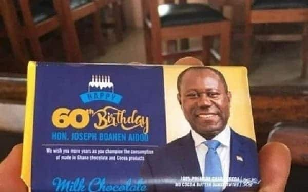 COCOBOD CEO's branded birthday chocolates