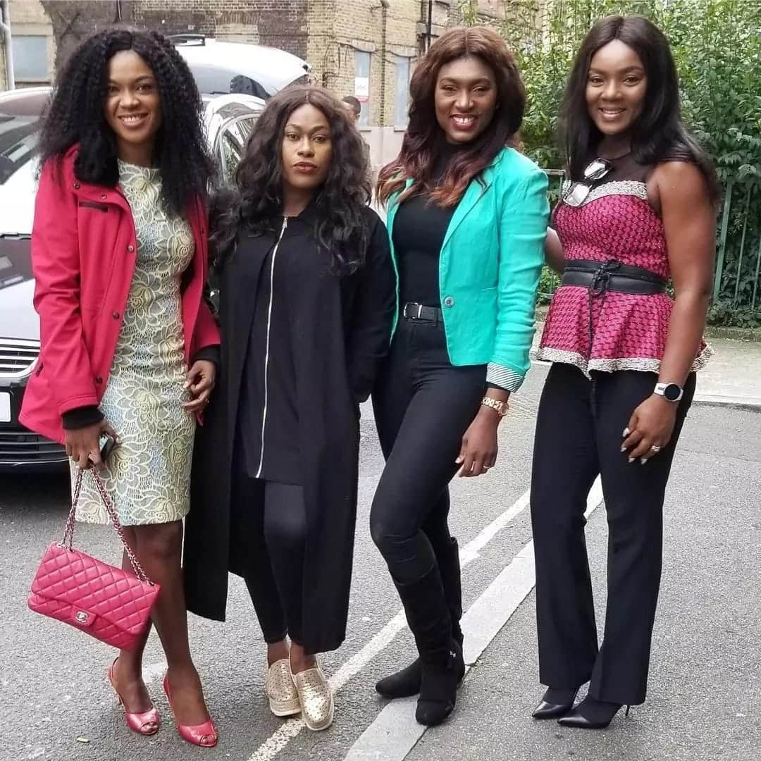 Ghanaian female celebrities slay on Instagram