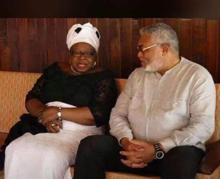 Rawlings meets wife of General Acheampong