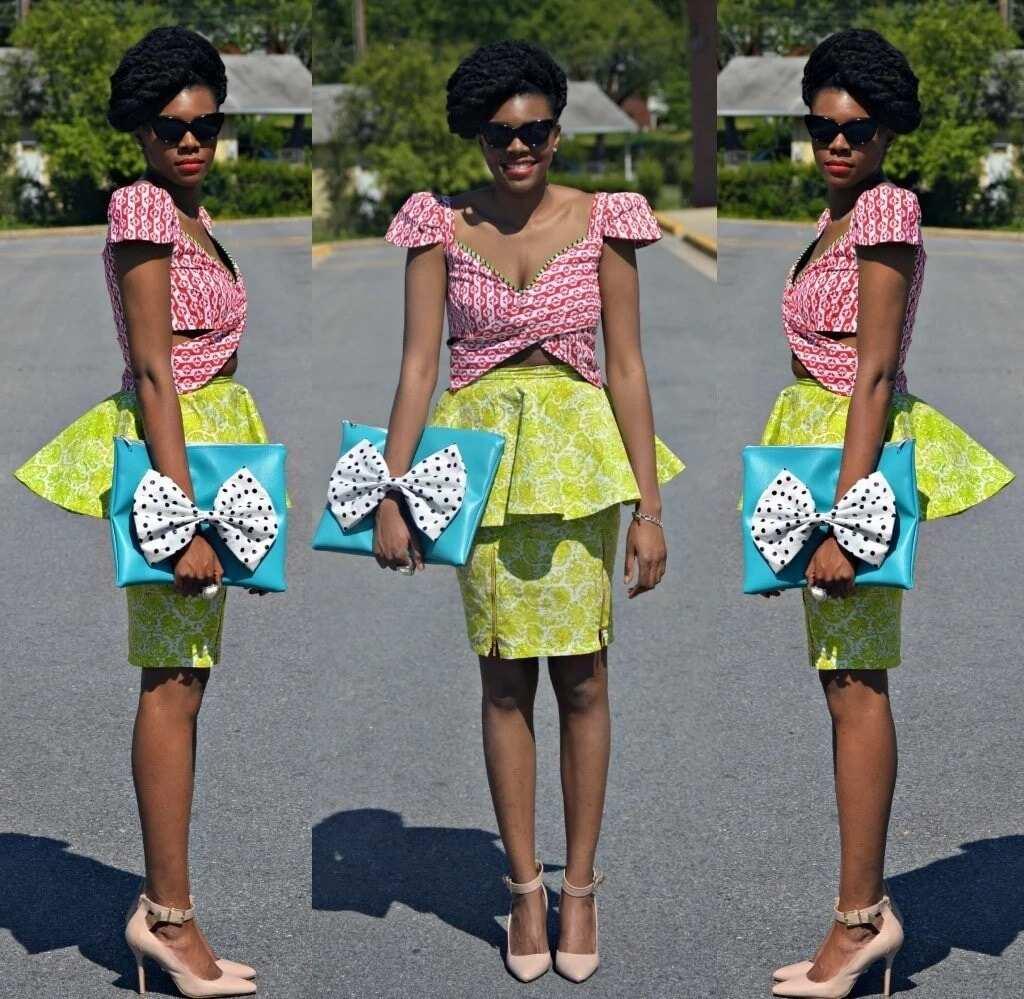 latest skirt and blouse designs, ankara skirt and blouse, ankara short skirt and blouse styles