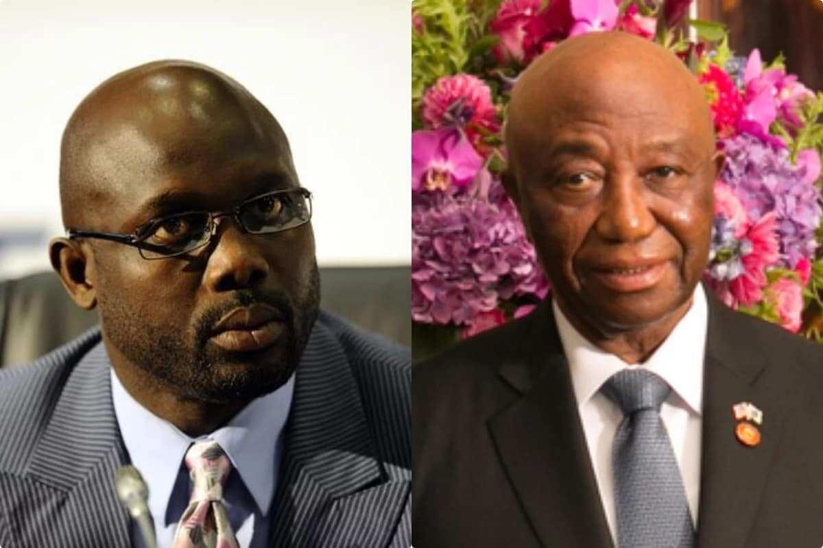 President-elect Oppong-Waeh and Joseph Boakai