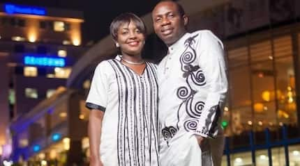 If you ever wondered who Counselor George Lutterodt's wife was, here she is