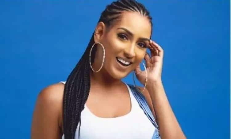 Juliet Ibrahim smiling