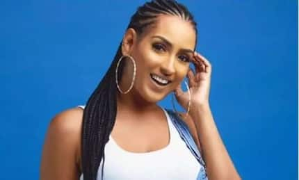 Juliet Ibrahim puts 'more pepper' in the eyes of her critics as she poses in colorful photo with her Nigerian boyfriend