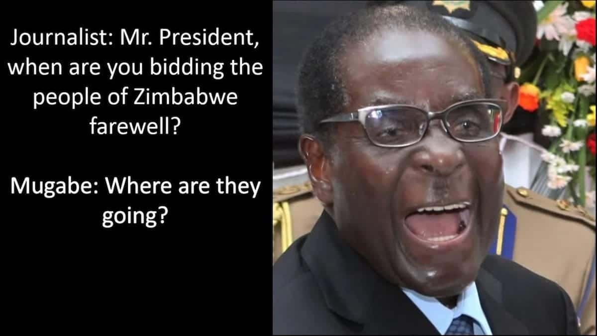 Robert Mugabe inspirational quotes