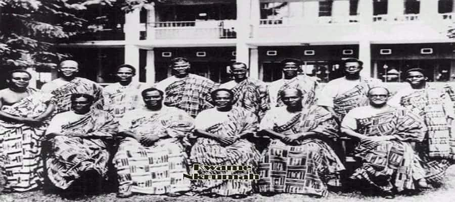 political history of Ghana in brief