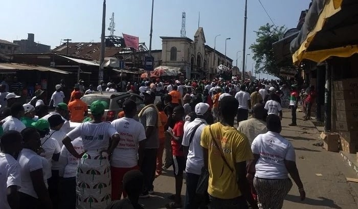 Massive turnout for NDC's Unity Walk (Photos+Video)