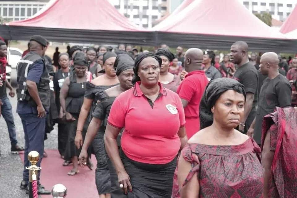 Excusive photos from Ebony's funeral