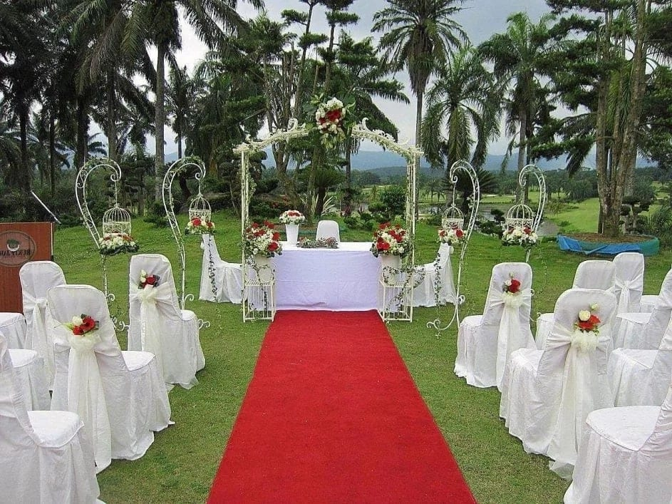 Ghanaian wedding decorations ideas, western themed wedding