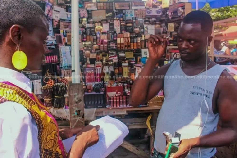 Meet the 'street' make-up artist taking over Accra