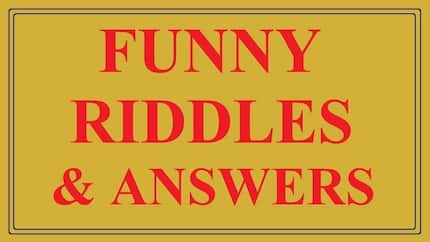 Funny riddles and their answers