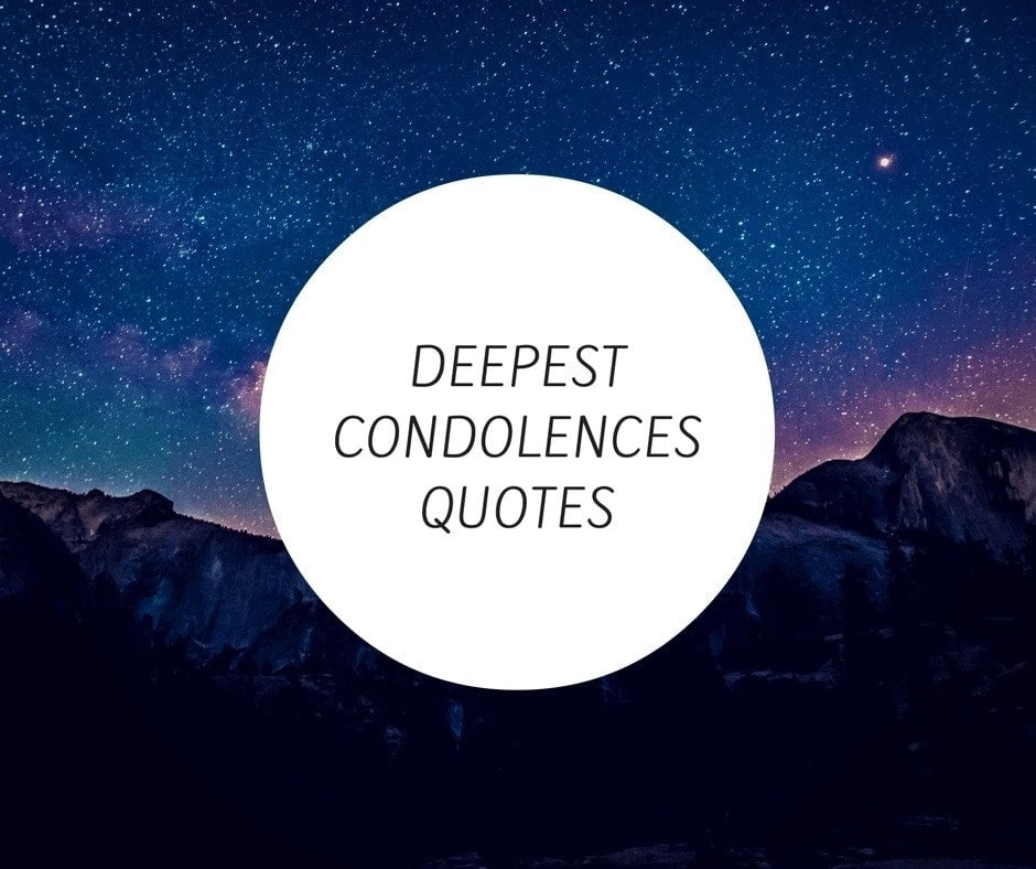 Condolence messages for loss of a loved one ▷ YEN.COM.GH