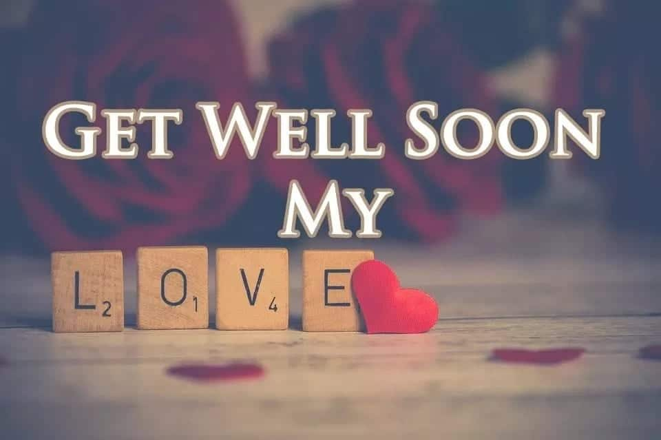 Get well soon romantic messages