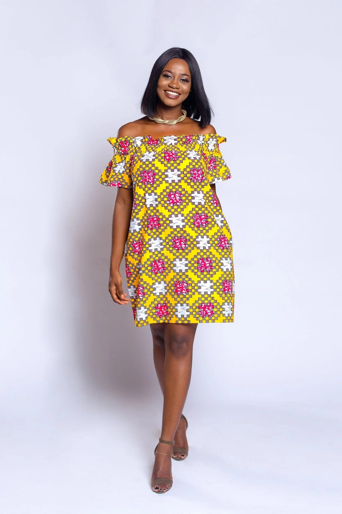 5e9073abdd8 Short African Dresses for Ladies 2019 ▷ YEN.COM.GH