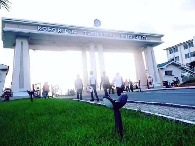 koforidua technical university courses koforidua technical university degree courses, courses in koforidua technical university