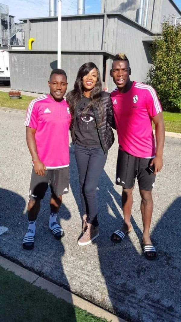 5 Photos of Asamoah wife's that prove he should not be chasing other women