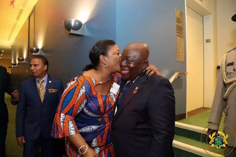 Akufo-Addo, Rebecca 'chill' with taxpayers' money while on official duty in New York?