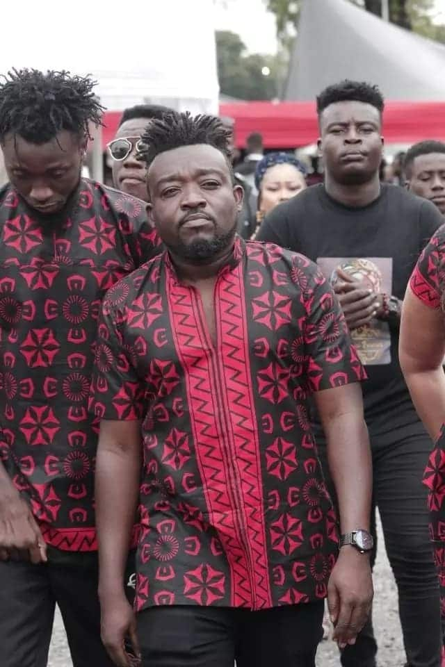 Rare photos of how Bullet showed up at Ebony's funeral