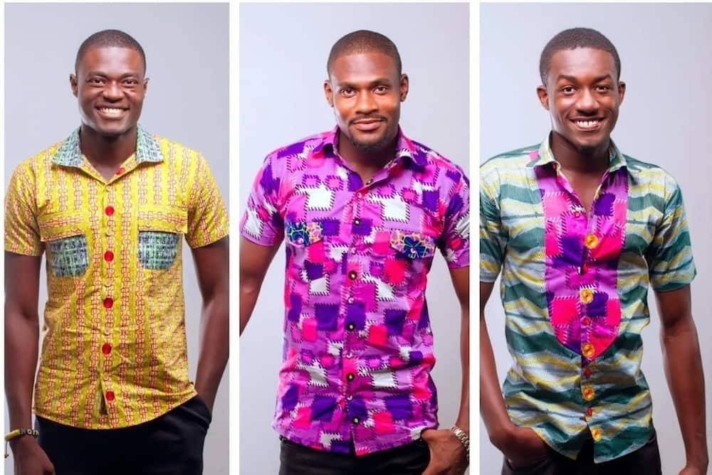 African Print Shirts For Guys Best In 2020 Photos Yen Com Gh,Adirondack Chair Paint Designs
