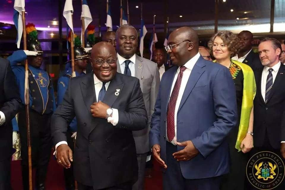 Akufo-Addo, Rawlings and Kufuor dine with Danish queen