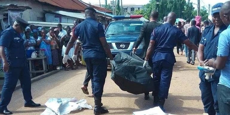 Angry Ghanaians lynch one of three suspected robbers in Tatale