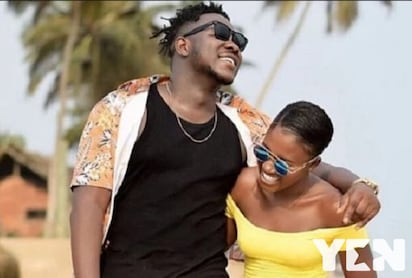 Meet Samira, the side chic giving Medikal pressure to drop Fella Makafui (Photos)