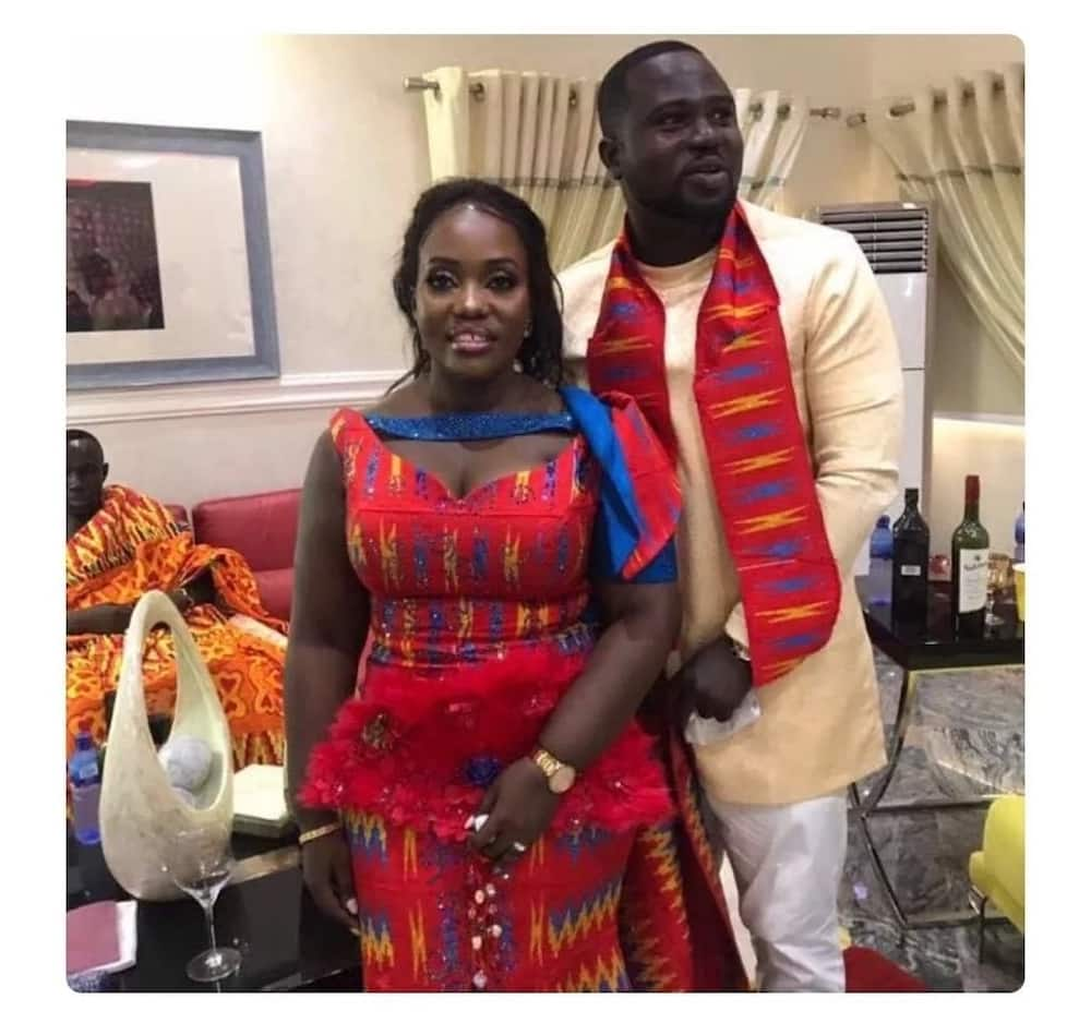 Dr. Osei Kwame Despite's daughter gets hitched in plush traditional wedding