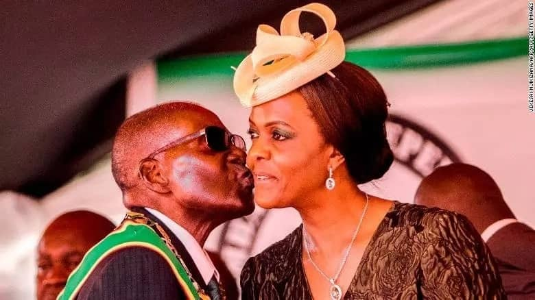 Mugabe on wooing his wife