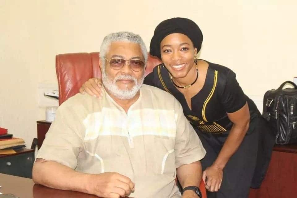 Jj Rawlings Children and Wife