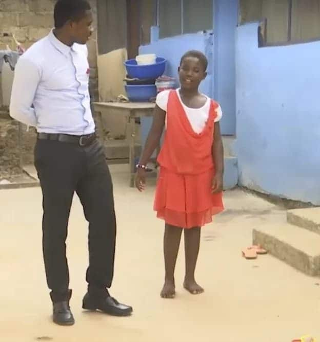 Ghana Police fails to support girl after a stray bullet hit her