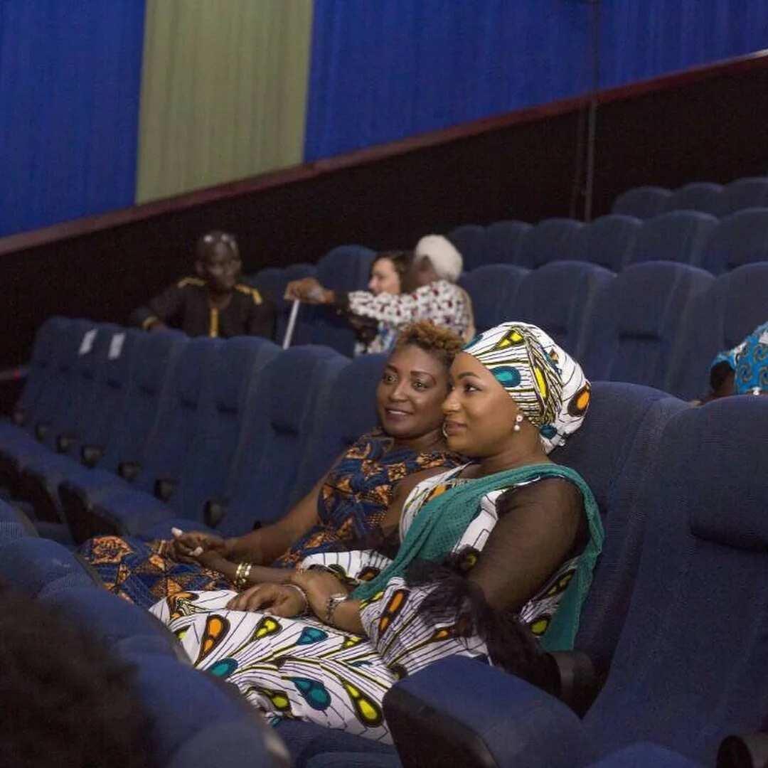 Rebecca Akufo-Addo chills at the cinema