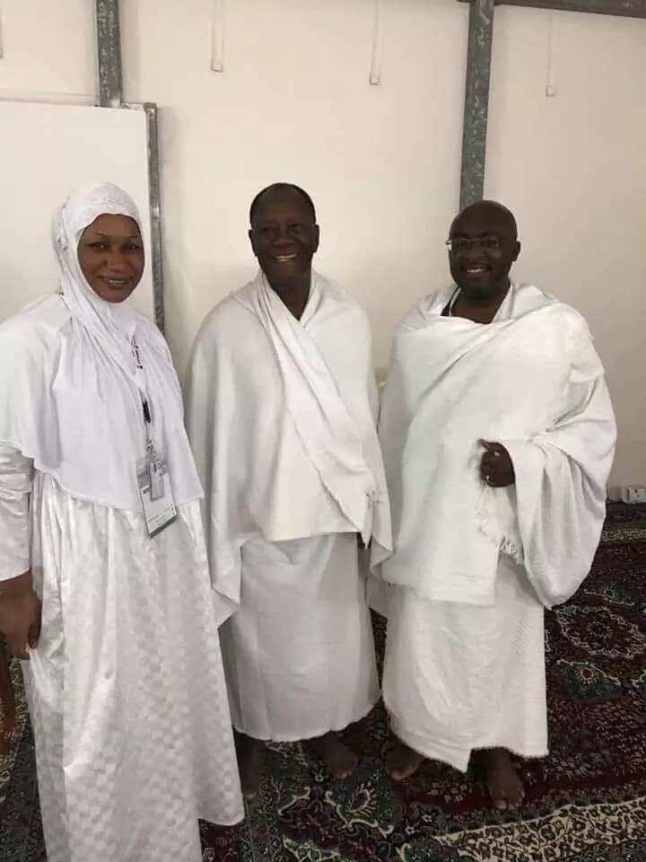 Photos of Samira Bawumia without make-up pop up